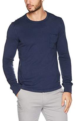 Marc O'Polo Men's's M29228052024 Longsleeve T - Shirt Blue Dust 886, M