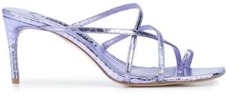 Alice + Olivia Strappy High Heel Sandals