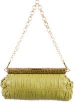 Prada Nappa Gaufre & Crocodile Frame Bag