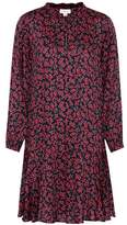 Velvet Priscilla floral-printed dress