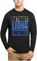 '47 Men's Detroit Lions Compton Club Long-Sleeve T-Shirt