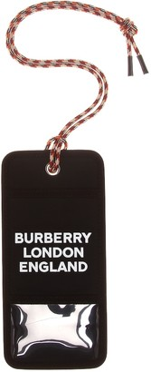 Burberry Logo canvas card holder