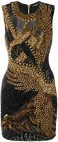 Balmain beaded sleeveless dress
