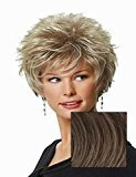Hair U Wear Perk by Gabor Wigs - G12+ Pecan Mist
