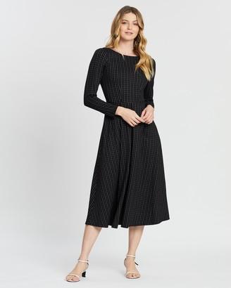 Closet London Pleated Full Skirt Dress