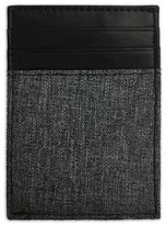Swiss Gear Men's Front Pocket Wallet - Heathered Black and Gray