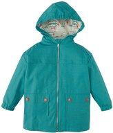 Little Green Radicals Fisherman Jacket (Toddler/Kid) - Blue Bay-3 Years