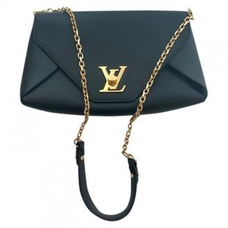 Louis Vuitton Soft Lockit Black Leather Handbags