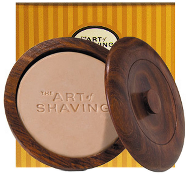 The Art of Shaving Shaving Soap with Wooden Bowl - Lemon