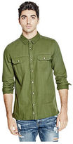 G by Guess GByGUESS Men's Zilden Long-Sleeve Shirt