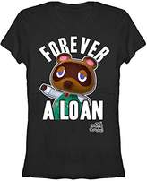 Nintendo Women's Forever a Loan Animal Crossing Crew Neck Graphic T-Shirt