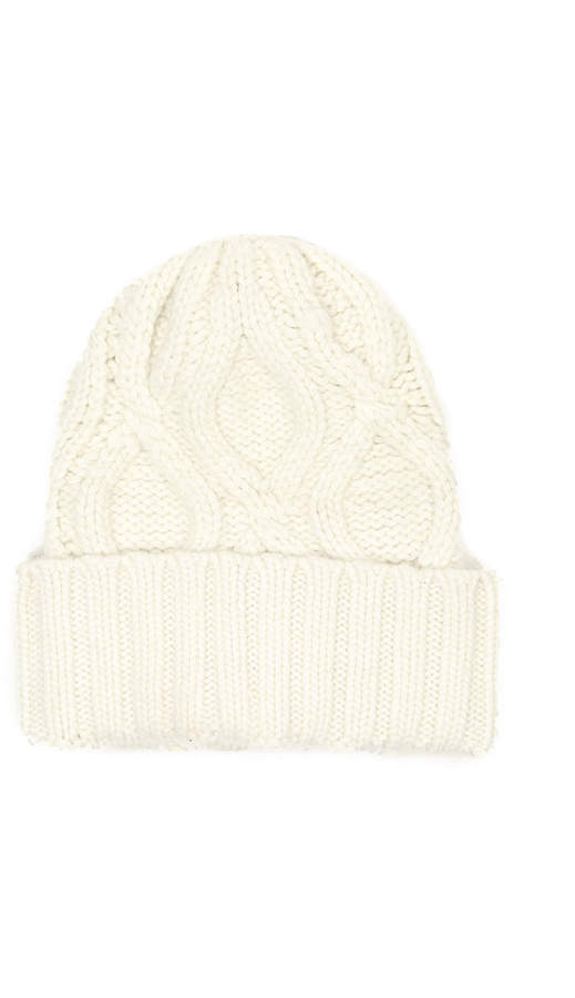69060c322d17c8 Cream Winter Hat - ShopStyle