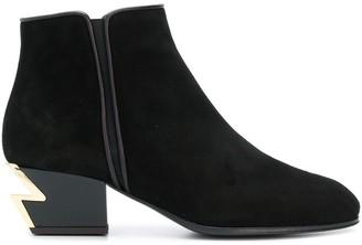 Giuseppe Zanotti round toe boots