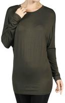 Minx Olive Dolman Shirt