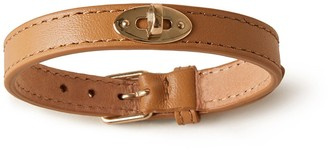 Mulberry Bayswater Thin Bracelet Sable Silky Calf