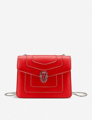 Bvlgari Serpenti Forever leather cross-body belt bag