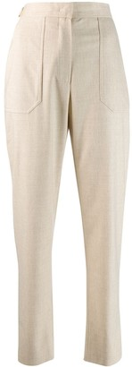 Fendi High-Waisted Cropped Trousers