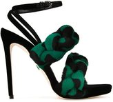 Marco De Vincenzo ankle strap stiletto sandals