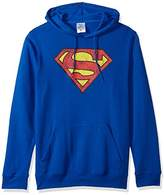 Superman Men's Fleece Pullover Hoodie