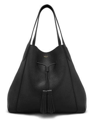 Mulberry Millie Tote Black Heavy Grain