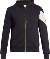 Moncler Gamme Bleu Zip-though cotton-jersey sweatshirt
