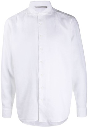 La Fileria For D'aniello Long Sleeve Button Down Shirt