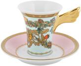 Versace Le Jardin de Cup & Saucer - Tall