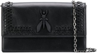 Patrizia Pepe studded Fly crossbody bag