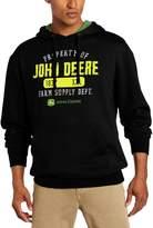 John Deere Mens Property Of JD Fleece PO Hoodie
