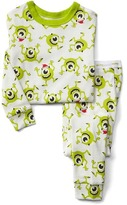 Gap babyGap | Disney Baby Mike Wazowski sleep set