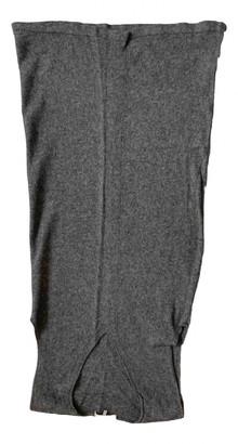Gerard Darel Grey Cashmere Dresses