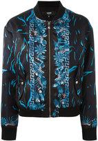 Versus printed bomber jacket - women - Polyester/Spandex/Elastane/Viscose - 40