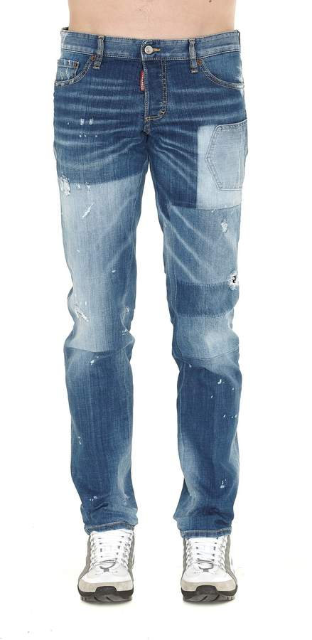 DSQUARED2 Patch Jeans