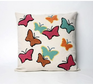 Liora Manné Multi Butterfly 20-inch Throw Pillow