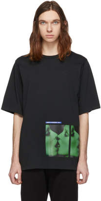 DSQUARED2 Black Mert and Marcus 1994 Edition Dyed T-Shirt