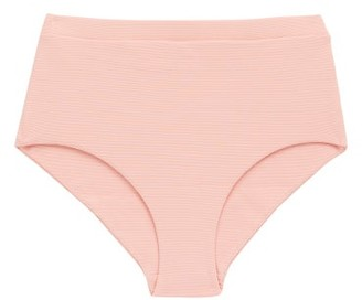 Cossie + Co - The Gemma High-rise Bikini Briefs - Light Pink