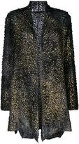 Avant Toi open cardigan - women - Silk/Cashmere - XS