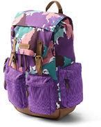 Lands' End Kids Global ClassMate Backpack-Sea Cliff Blue