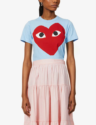 Comme des Garcons Graphic-print cotton-jersey T-shirt
