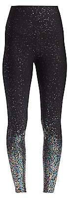 Beyond Yoga Women's Alloy Ombre Metallic High-Rise Leggings