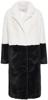 Stand Studio Maribel Two-tone Faux Fur Coat
