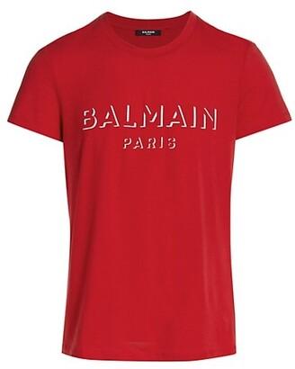 Balmain 3D Logo Graphic T-Shirt