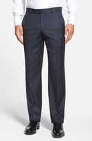 Ted Baker 'Jefferson' Flat Front Wool Trousers