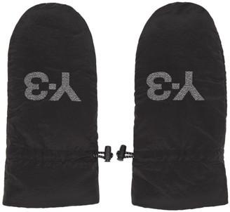 Y-3 Black CH3 Mittens