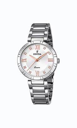 Festina Womens Analogue Quartz Watch with Stainless Steel Strap F16936/B