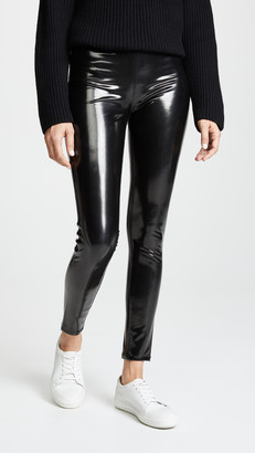 Blank Vinyl Pull On Leggings