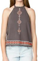Element Charcoal Aztec Halter