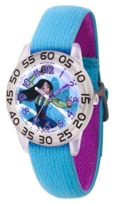 EWatchFactory Disney Princess Mulan Girls' Clear Plastic Watch 32mm