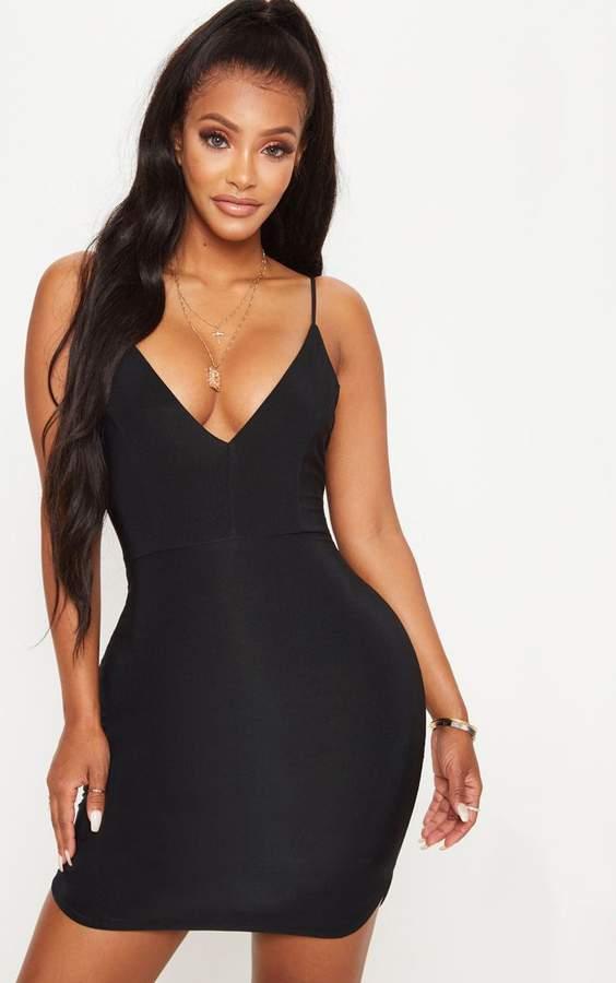 d9b55c02b9e PrettyLittleThing Black Flattering Dresses - ShopStyle UK