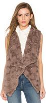 Bishop + Young Repeat Faux Fur Vest